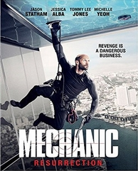 Mechanic Resurrection DVD