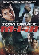 Mission Impossible III Fullscreen DVD Movie