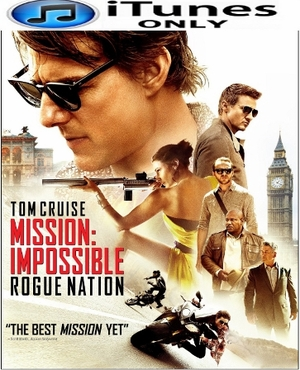 Mission Impossible Rogue Nation HD Digital Copy iTunes Only