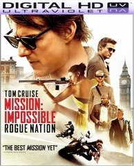 Mission Impossible Rogue Nation HD Digital Ultraviolet UV Code
