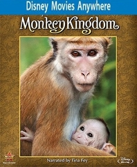 Monkey Kingdom HD DMA Disney Movies Anywhere Code, Vudu or iTUNES