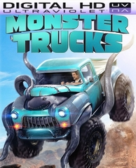 Monster Trucks HD Digital Ultraviolet UV Code