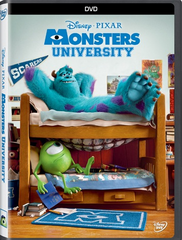 Monsters University DVD Movie