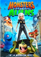 Monsters Vs  Aliens DVD (USED)