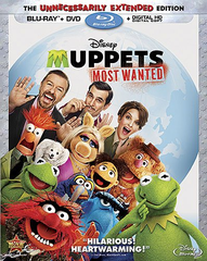Muppets Most Wanted (Blu-ray + DVD + UltraViolet)
