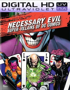 Necessary Evil Super Villains of DC Comics HD Ultraviolet UV Code