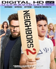 Neighbors 2: Sorority Rising HD Digital Ultraviolet UV Code