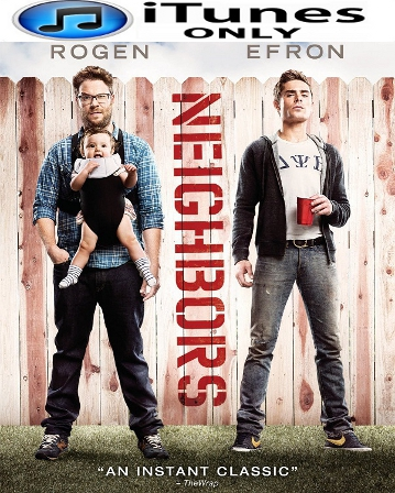 Buy Neighbors iTunes ONLY HD Digital Code For Sale Cheap Online