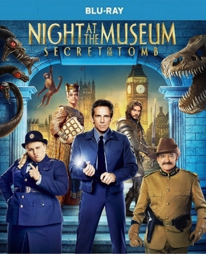 Night at the Museum Secret of the Tomb Blu-ray Single Disc