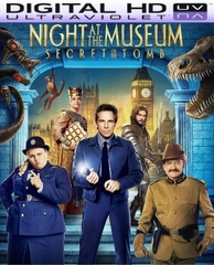 Night at the Museum Secret of the Tomb HD Ultraviolet UV Code