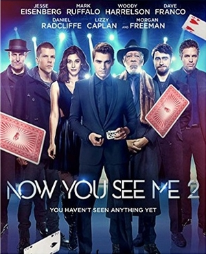 Now You See Me 2 DVD