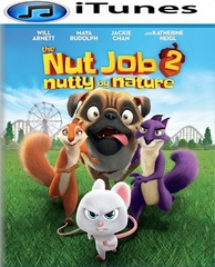 Nut Job 2: Nutty by Nature HD iTunes Code     (PRE-ORDER WILL EMAIL ON OR BEFORE 11-14-17 AT NIGHT)