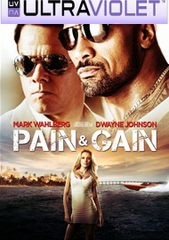 Pain & Gain SD Digital UltraViolet UV Code