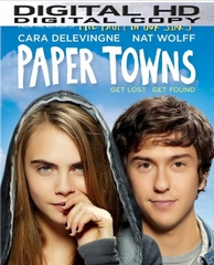 Paper Towns HD Ultraviolet Digital Copy Code (Vudu or iTunes)