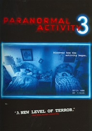 Paranormal Activity 3 DVD
