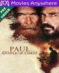 Paul, Apostle Of Christ HD UV or iTunes Code Via MA     (PRE-ORDER WILL EMAIL ON OR BEFORE 6-19-18 AT NIGHT)