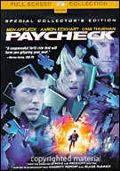 Paycheck Special Collectors Edition Fullscreen DVD