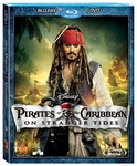 Pirates of The Caribbean On Stranger Tides (Blu-ray  USED)