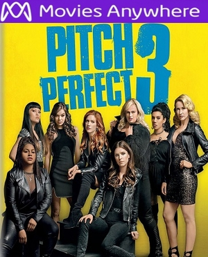 Pitch Perfect 3 HD UV or iTunes Code via MA