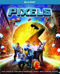 Pixels Blu-ray Single Disc
