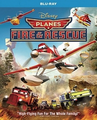 Planes Fire & Rescue Blu-ray Single Disc