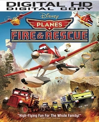 Planes Fire and Rescue HD Digital Copy Code (VUDU)