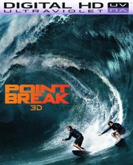 Point Break (2015) HD Digital Ultraviolet UV Code (VUDU)
