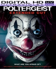 Poltergeist Extended Cut  HD Digital Ultraviolet UV Code (VUDU or iTunes)