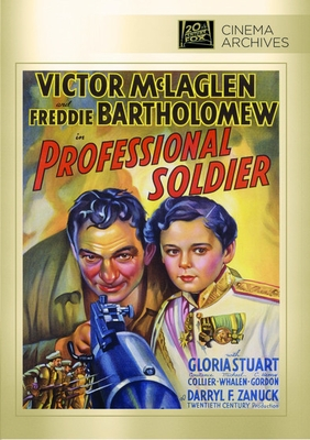 Professional Soldier DVD Movie (1935)