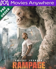 Rampage HD UV or iTunes Code via MA (PRE-ORDER WILL EMAIL ON OR BEFORE BLU-RAY RELEASE DATE)