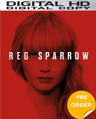 Red Sparrow HD UV or iTunes Code  (PRE-ORDER WILL EMAIL ON OR BEFORE 5-22-18 AT NIGHT)