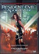 Resident Evil  Apocalypse DVD Movie