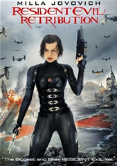 Resident Evil Retribution DVD + Ultraviolet + Digital Copy