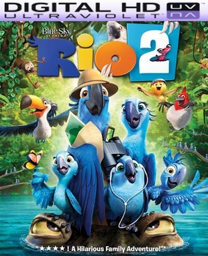 Rio 2 HD Digital Ultraviolet UV Code
