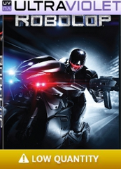 RoboCop SD Digital Ultraviolet UV Code