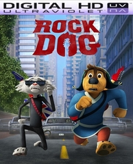 Rock Dog HD Digital Ultraviolet UV Code