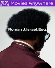 Roman J. Israel, Esq. HD UV or iTunes Code via Movies Anywhere
