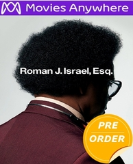 Roman J. Israel, Esq. HD UV or iTunes Code via Movies Anywhere    (PRE-ORDER WILL EMAIL ON OR BEFORE 2-13-18 AT NIGHT)