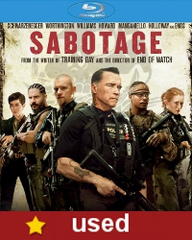 Sabotage Blu ray (USED)