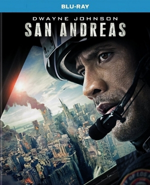 San Andreas Blu-ray Blu-ray Single Disc