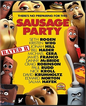 Sausage Party DVD