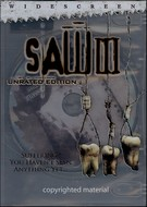 Saw III Unrated Edition DVD Movie