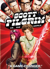 Scott Pilgrim Vs The World Rental DVD (USED)