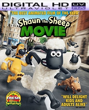 Shaun the Sheep Movie HD Ultraviolet UV Code