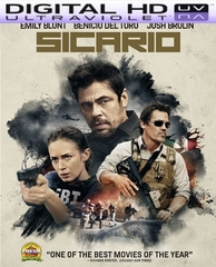 Sicario HD Digital Ultraviolet UV Code