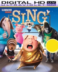 Sing HD Digital Ultraviolet UV Code