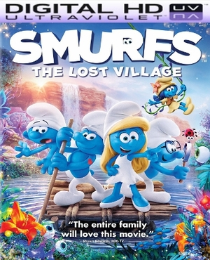 Smurfs: The Lost Village HD Ultraviolet UV Code