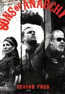 Sons Of Anarchy Season Four DVD.