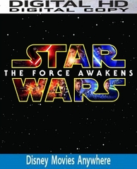 Star Wars: The Force Awakens HD  VUDU / iTUNES / Google Play / Disney DMA DMR / Amazon Video
