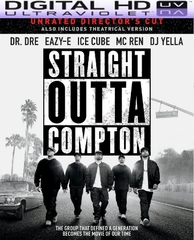 Straight Outta Compton HD Digital Ultraviolet UV Code